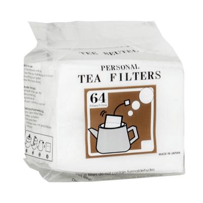 Thee filter met touwtje pak 64 stuks