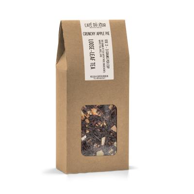 Crunchy Apple Pie - zwarte thee 100 gram - Café du Jour losse thee