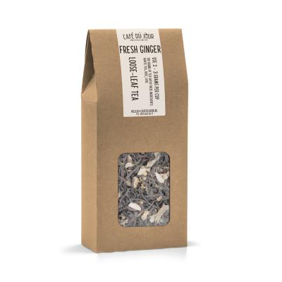Fresh Ginger - zwarte thee 100 gram - Café du Jour losse thee