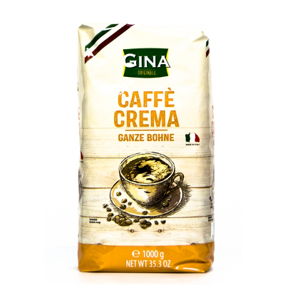 Gina caffè crema koffiebonen 1 kilo