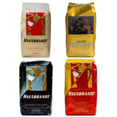 Hausbrandt koffiebonen proefpakket 4 x 1 Kilo