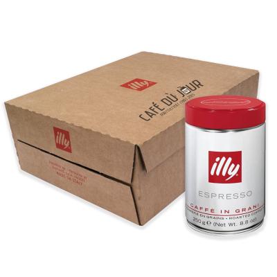 illy - koffiebonen - XL Voordeeldoos Classico - Normale Branding Rood - 12 x 250 gram