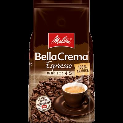 Melitta BellaCrema Espresso 1 kilo koffiebonen (korte tht)