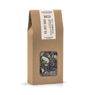 Wicca kruidenthee - zwarte thee 100 gram - Café du Jour losse thee