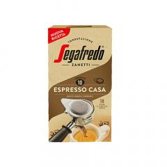 Segafredo ESE serving pods 'Espresso Casa' 18 stuks