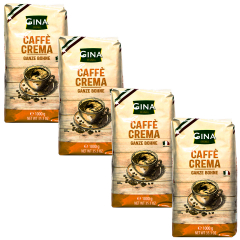 Gina caffè crema 4 kg koffiebonen