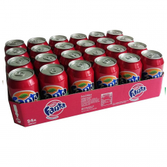 Fanta exotic 330 ml. / tray 24 blikken