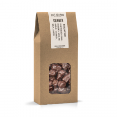 Gember in pure chocolade 250 gram