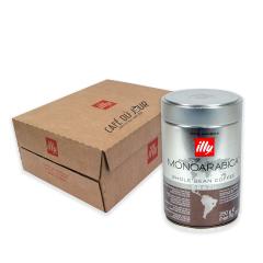 Illy Monoarabica Brazilië voordeeldoos 6 blikken koffiebonen VPE colli verpakkingseenheid