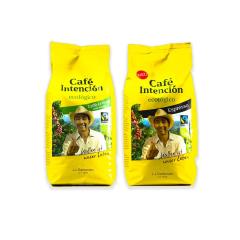 Café Intención koffiebonen proefpakket 2 x 1 kilo