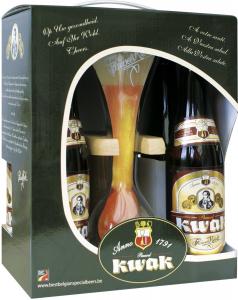 Pauwel Kwak geschenkverpakking bierpakket met gratis koetsierglas