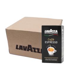 Lavazza Caffe Espresso koffie 8x 250 gram gemalen koffie voordeeldoos