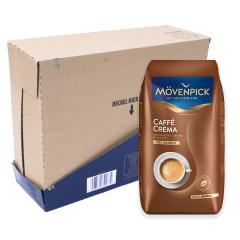 Mövenpick caffè crema 4 kg koffiebonen voordeeldoos colli verpakkingseenheid