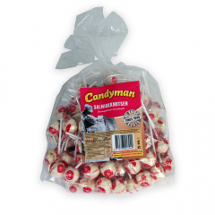 Candyman Salmiakknotsen 100 lollies