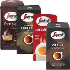 Segafredo koffiebonen proefpakket 4kg