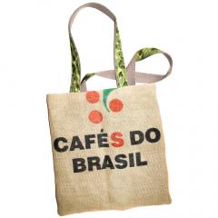 Tas gemaakt van Jute koffiezakken 'Kurk'
