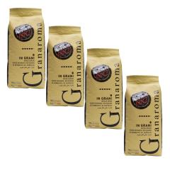 Caffè Vergnano 1882 Gran Aroma 4 kg koffiebonen voordeeldoos