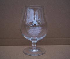 Brouwerij de Witte Leeuw voetglas