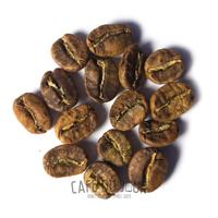 Koffiebonen in de geel/bruine fase